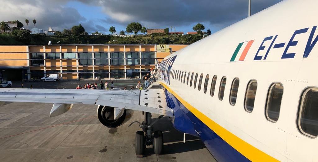 As Viagens de avião e as Finanças