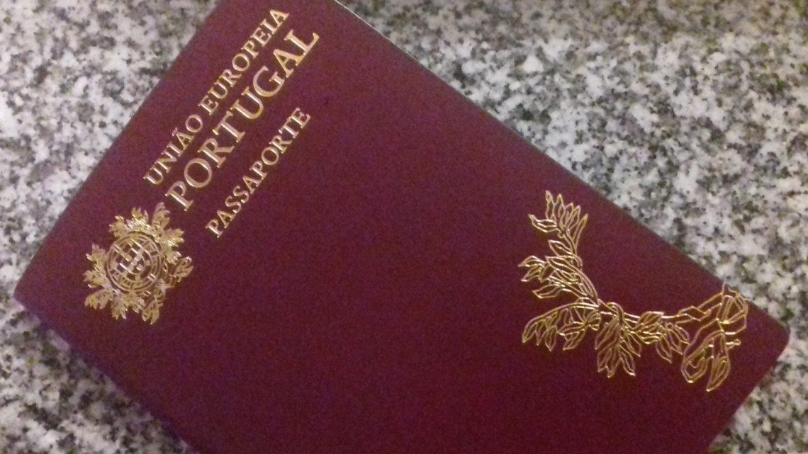 O passaporte eletrónico português