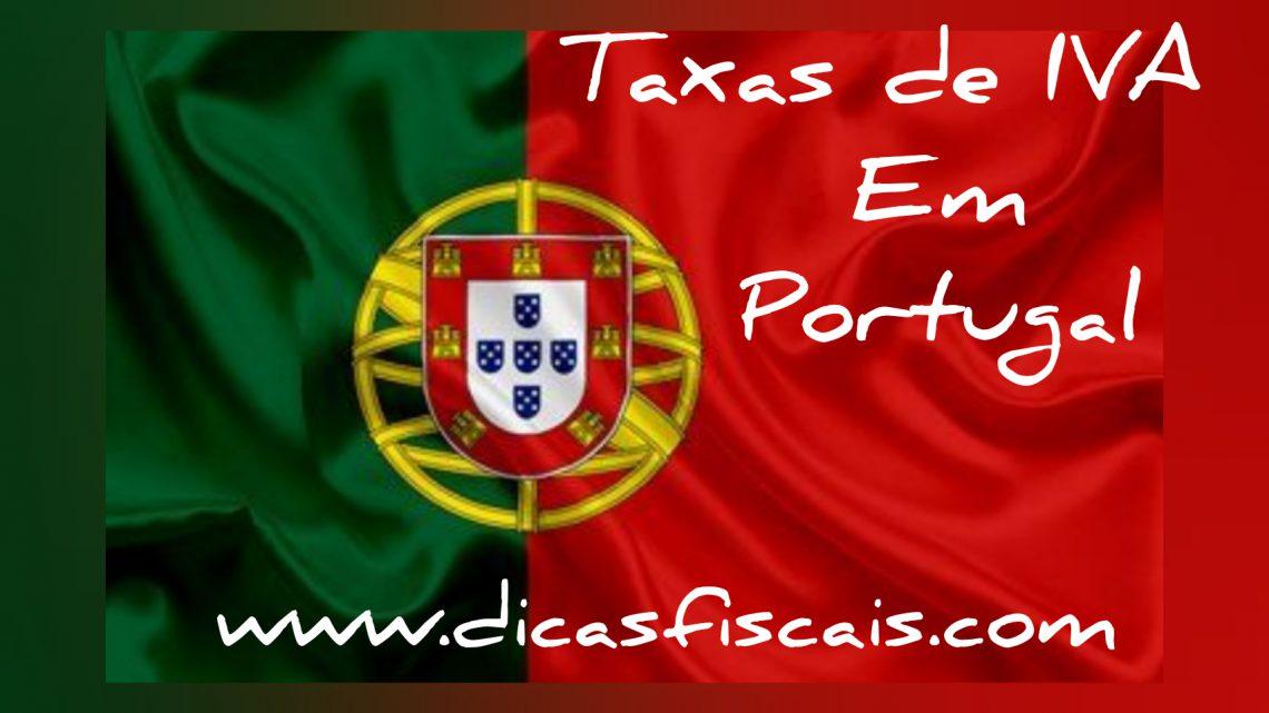 As Taxas de IVA em Portugal