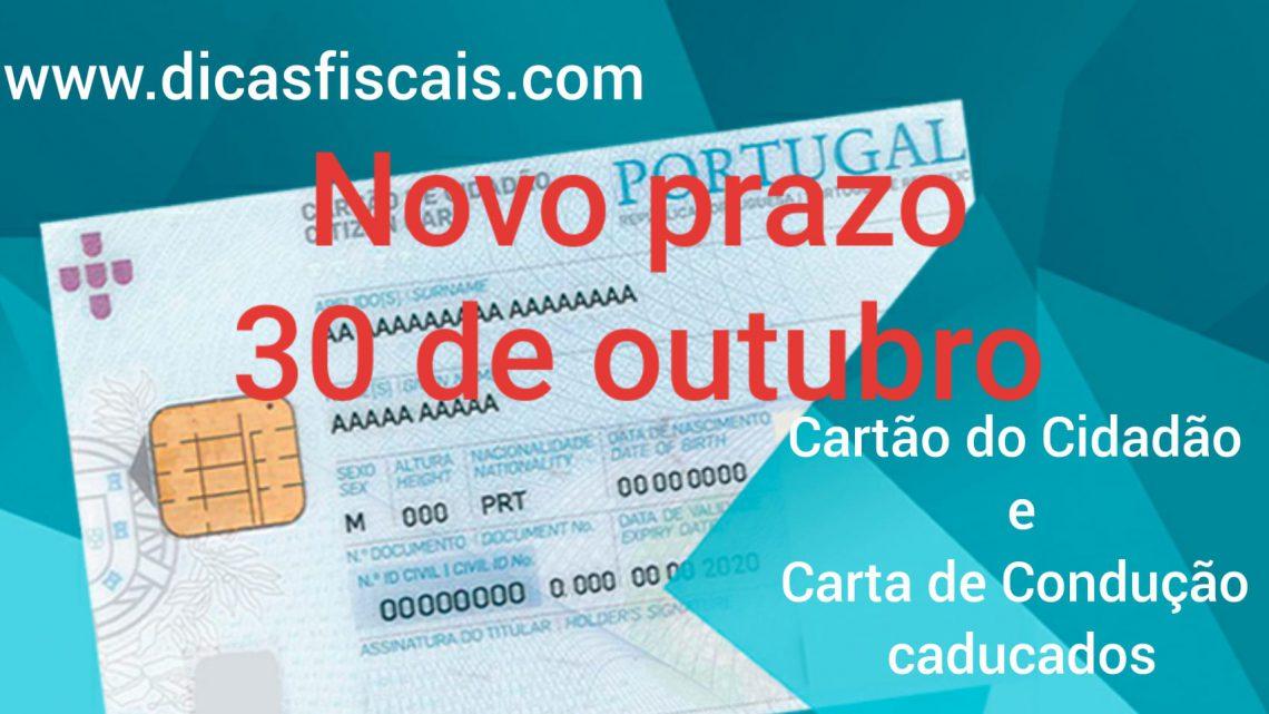 Documentos de identificação Caducados durante o Estado de Emergência