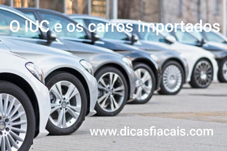 O Imposto único de circulação e os carros importados
