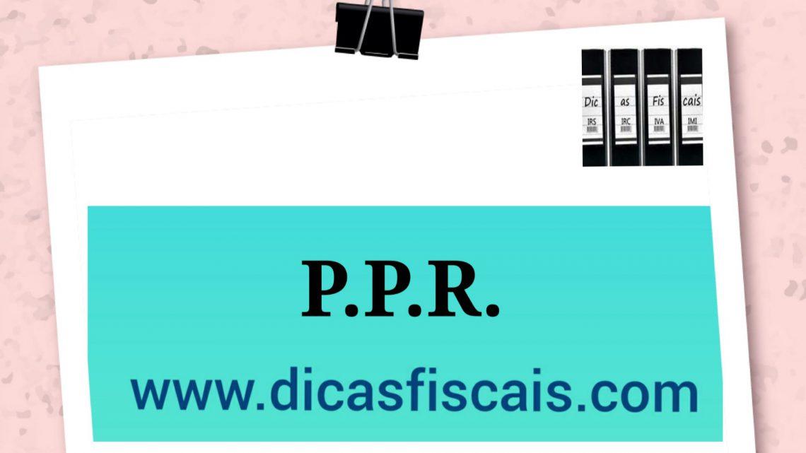 A Fiscalidade dos PPRs em Portugal