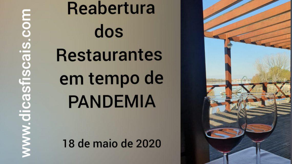 Reabertura dos Restaurantes