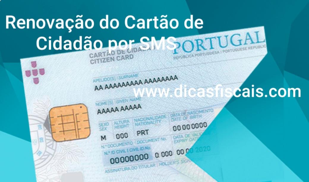 Renovação do Cartão de Cidadão por SMS
