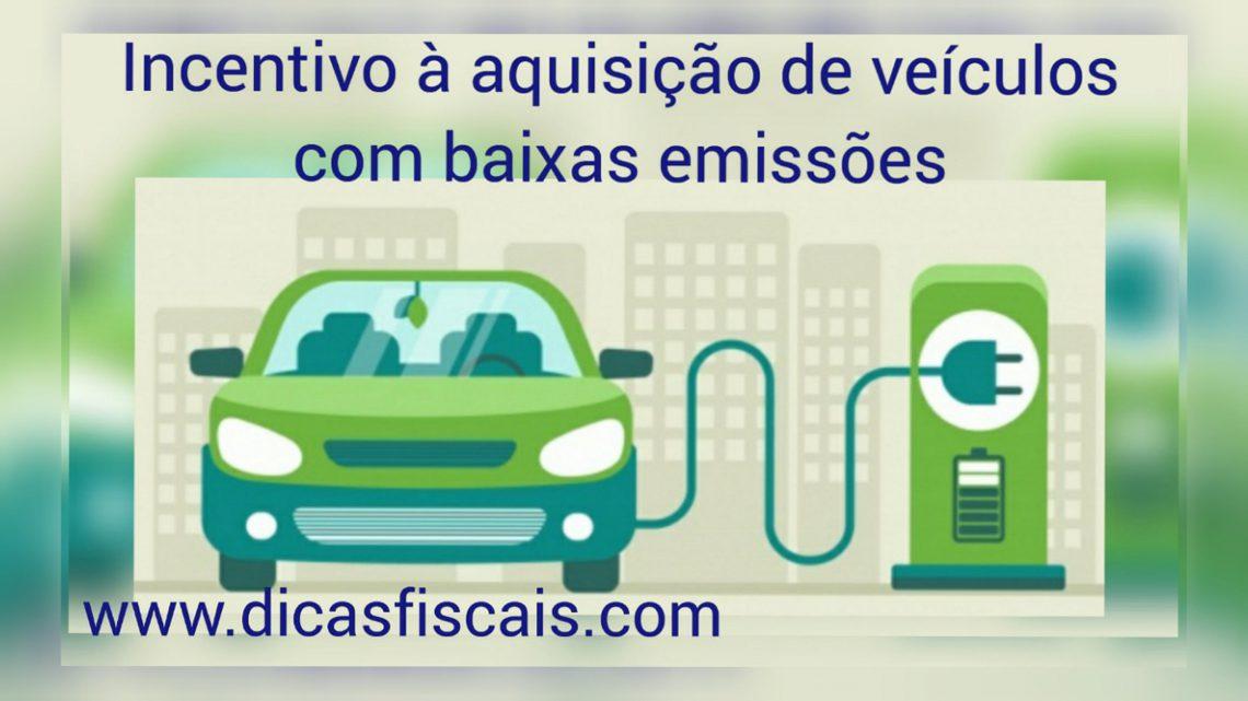Incentivo à Aquisição de Veículos com Baixas Emissões